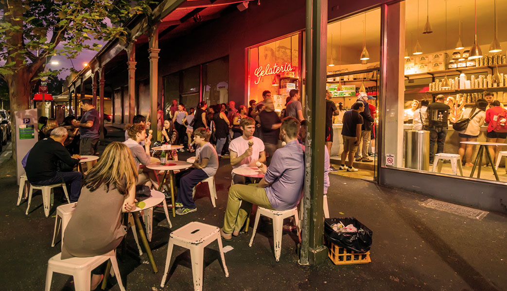 Restaurants Bars Fitzroy St